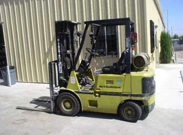 Exhibit 2. The forklift involved in the incident.