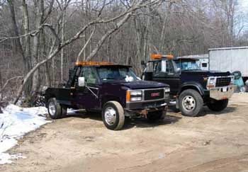 Figure 1. Conventional tow truck involved in the incident.