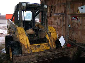 Figure 2. Skid-steer loader driven by brother.