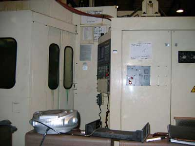 Figure 1. CNC machine involved in incident.