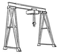 Illustration 1. Typical gantry crane