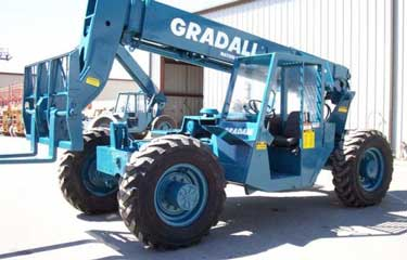 Gradall telescopic boom lift (rough-terrain forklift)