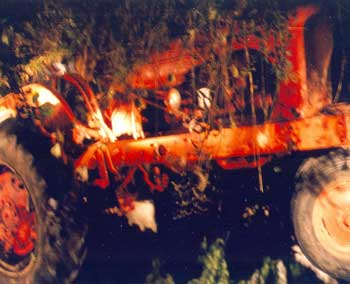 Figure 1. Side view of Allis Chalmers WD45 after the incident.
