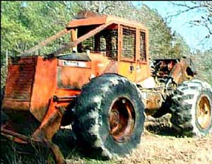 skidder model like the one in this incident