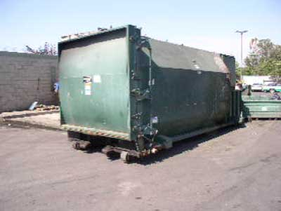 Exhibit 2: A picture of a container similar to the one that was on the truck when the incident occurred.