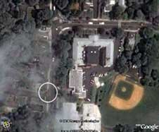 Photo 3. Satellite photo of area.