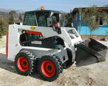 Figure 1. Skid-steer loader similar to the one involved in the incident.