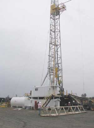 Figure 1. Drilling site where the incident occurred.