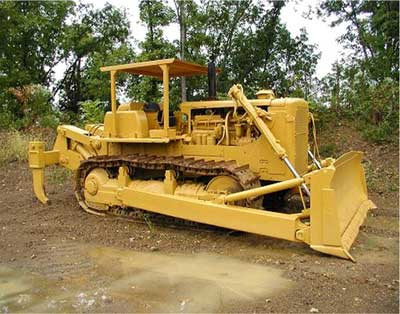 refurbished bulldozer