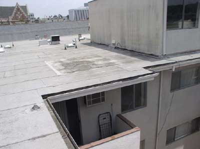 roof where victim was working