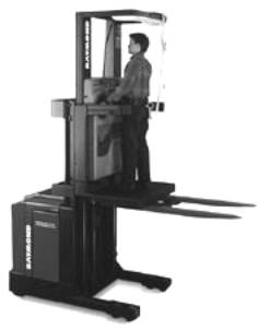 high lift order picker