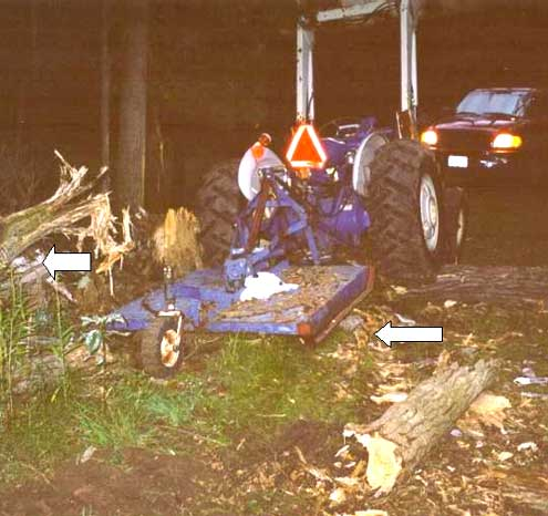 photograph of incident scene
