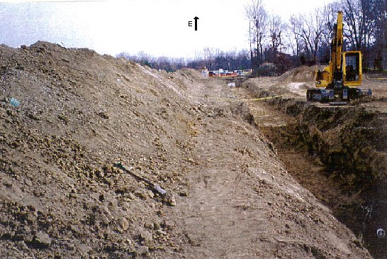Sewer Installation Project (Trench pictured is approximately 200 feet long.)