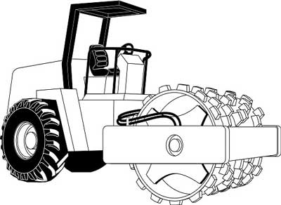 Compactor (permission to use this drawing was given by manufacturer).