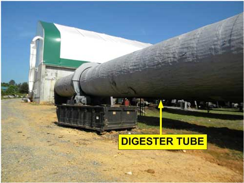 Digester tube