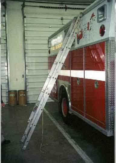 Fire RescueTruck With Ladder
