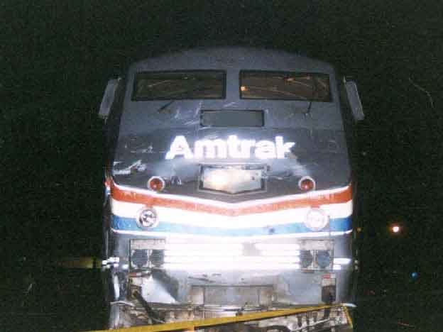 Amtrack Train Involved in This Incident