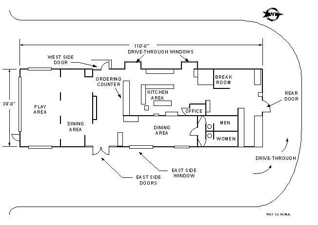 fire fighter fatality investigation report f2000-13 | cdc ...  restaurant schematic