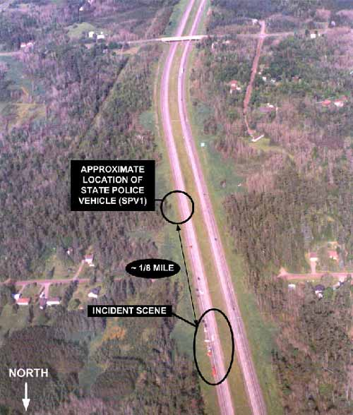 Photo 1. Aerial View of Highway