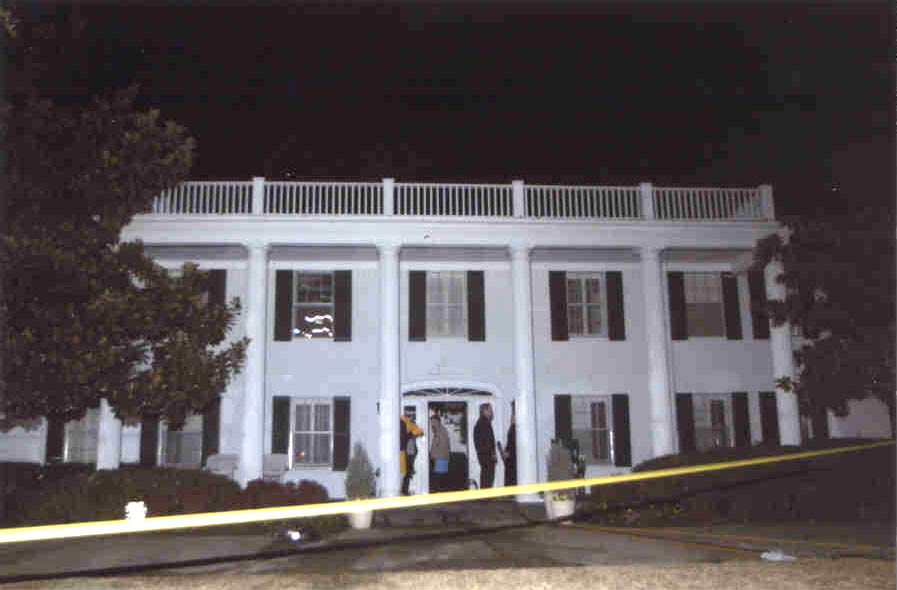 The dwelling involved in the incident