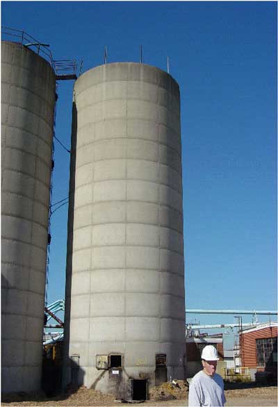 Photo 1. Incident Silo