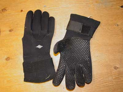 Gloves issued to surf rescue members