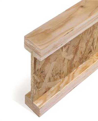 Engineered Wood I Joist