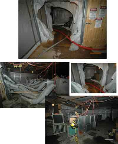 asbestos abatement system.