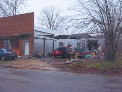 photo of structure before the fire.