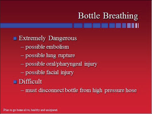 bottle breathing