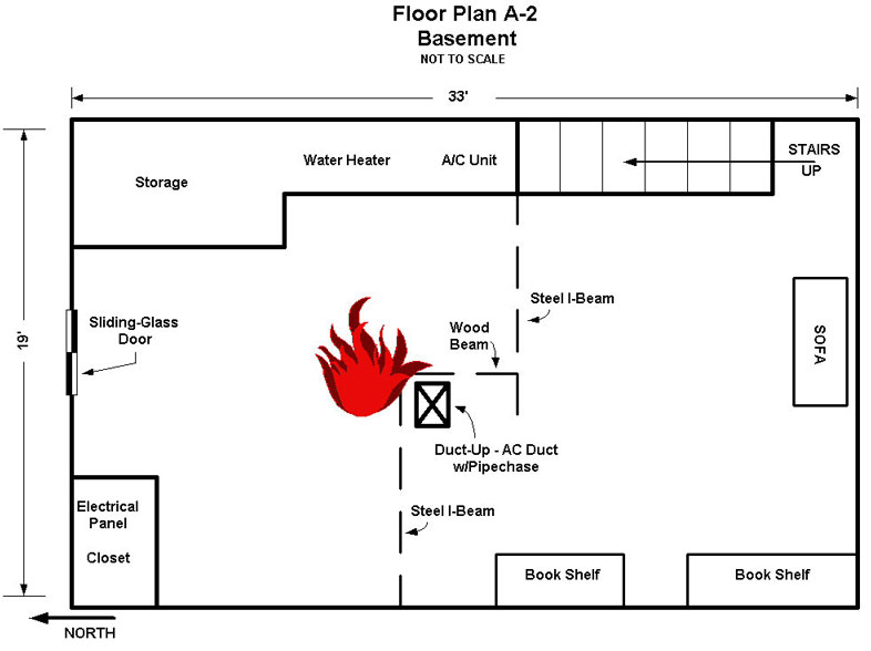 floor plan A-2 basement