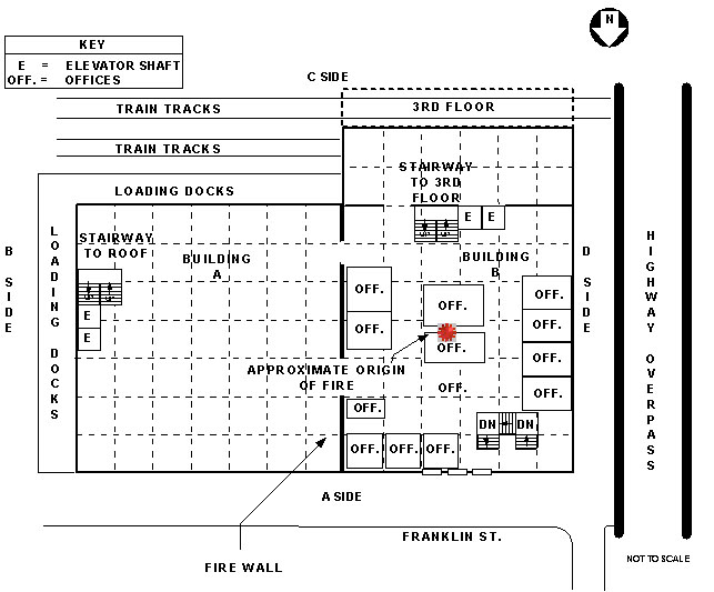 Cold Storage and Warehouse Building, 2nd Floor Layout, Plain View