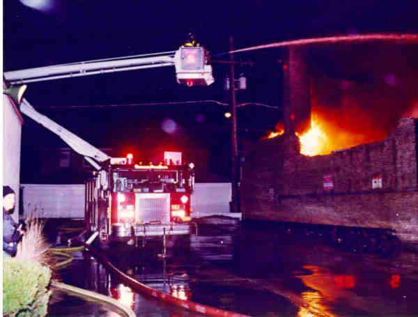 scene of the fatal fire