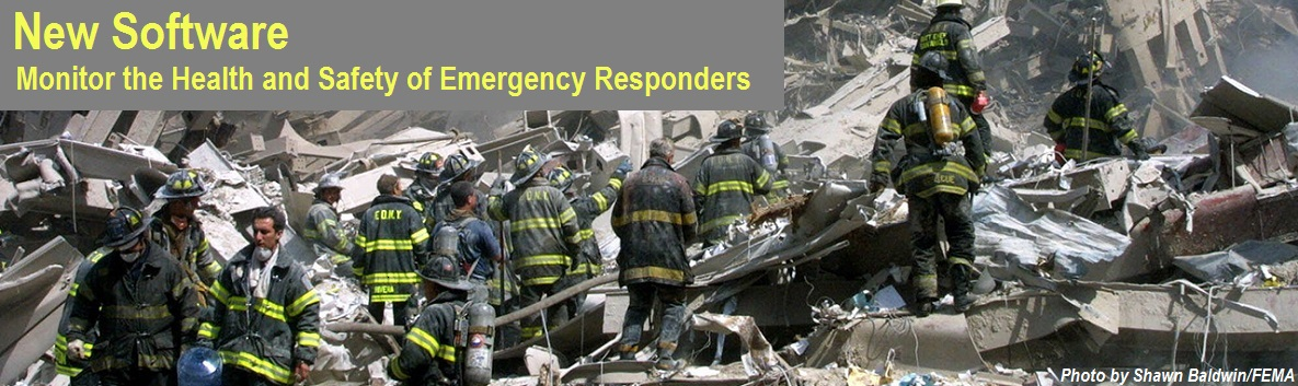 Emergency responders at ground zero
