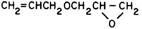 allyl glycidyl ether