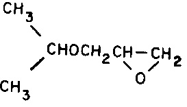 isopropyl glycidyl ether