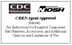 CBRN Agent Approved label