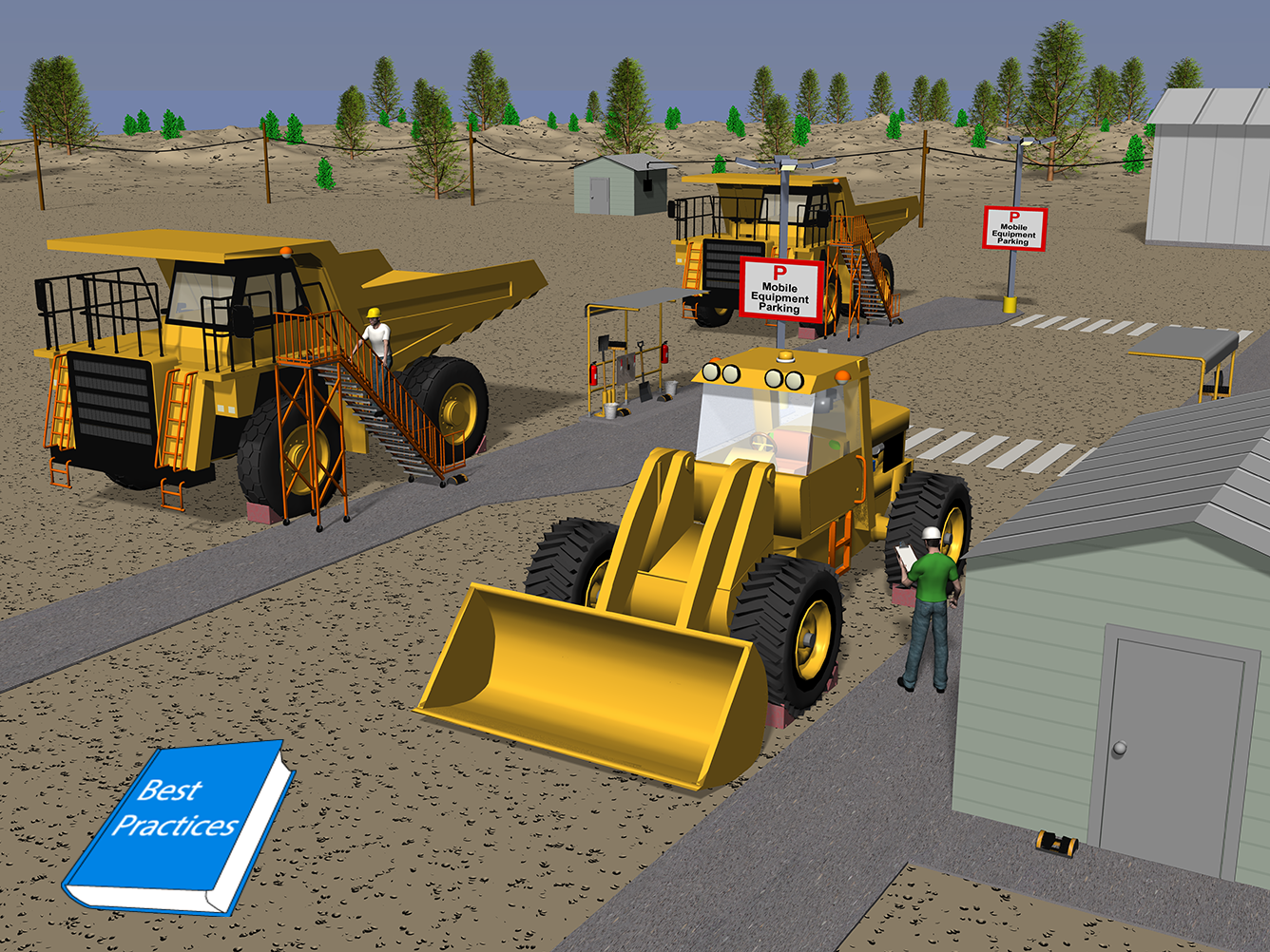CDC - Mining - Designing Safe Mobile Equipment Access Areas