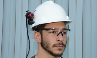 Cdc Mining Feature Helmet Video Recorder Helps