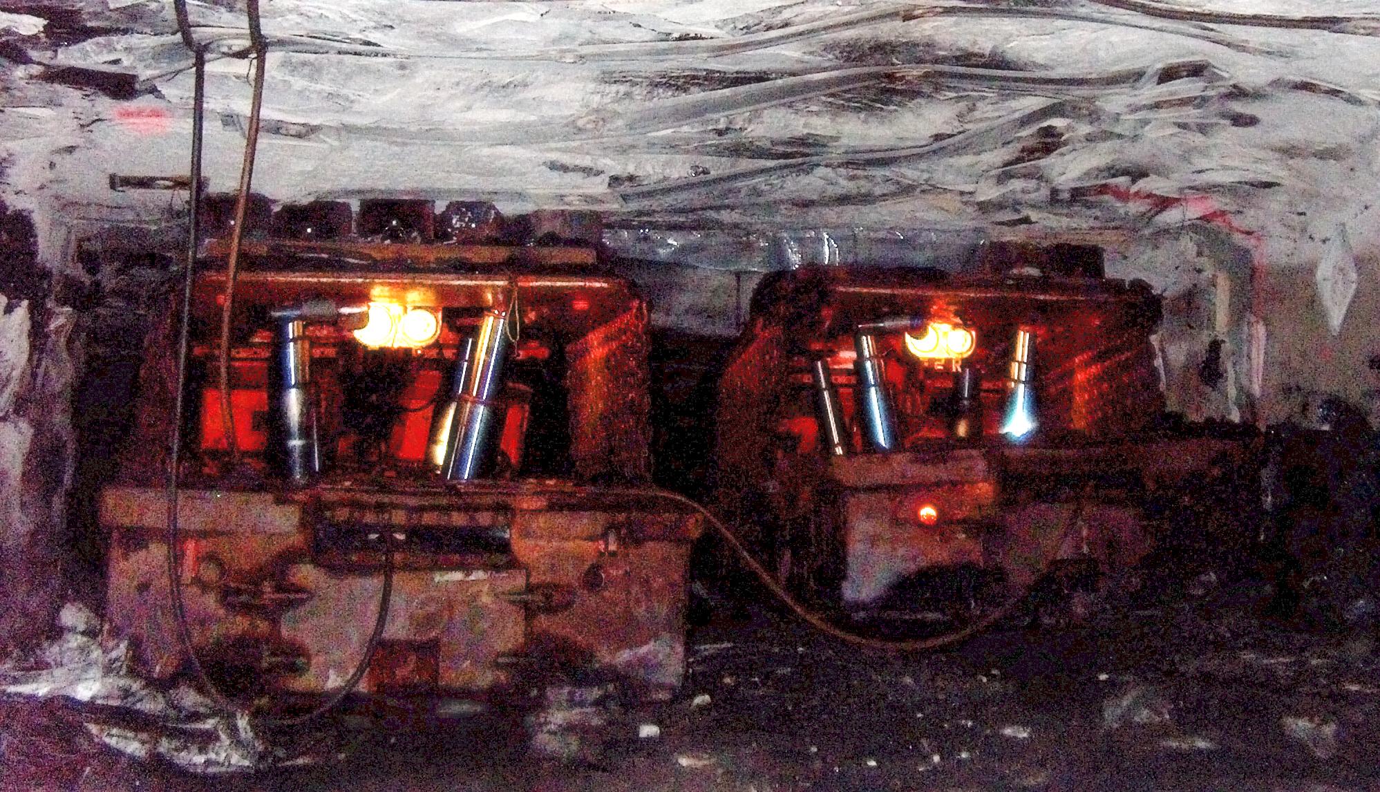 Hazards of underground mining