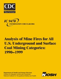 Surface mining safety topics mine fires for all u s underground