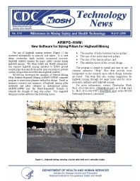 Open pit mining safety topics blitar work