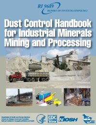Image of publication Dust Control Handbook for Industrial Minerals Mining and Processing