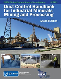 Front cover of Dust Control Handbook for Industrial Minerals Mining and Processing, Second edition