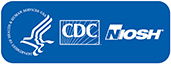 HHS, CDC, and NIOSH Logos