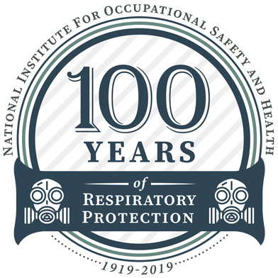 100 Years of Respiratory Protection logo