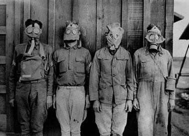 World War I respiratory protection