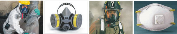 Examples of respirators and protective technology
