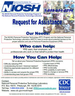 cover of PPE concerns flyer