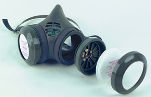 Figure 3 - Elastomeric respirator.